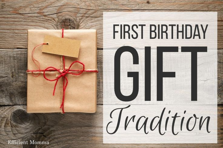 First Birthday Gift Tradition What To Get Your One Year