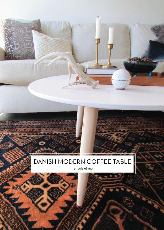 12 DECEMBER DIYS – Danish Modern Coffee Table
