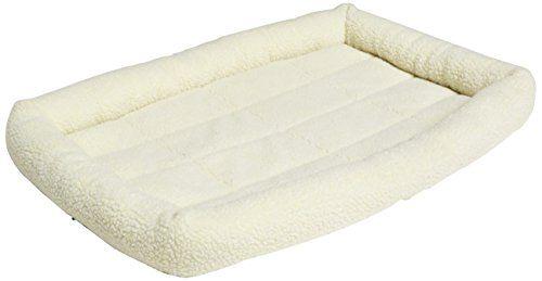 Amazonbasics Padded Pet Bolster Bed 35 X 22 Inches Dog