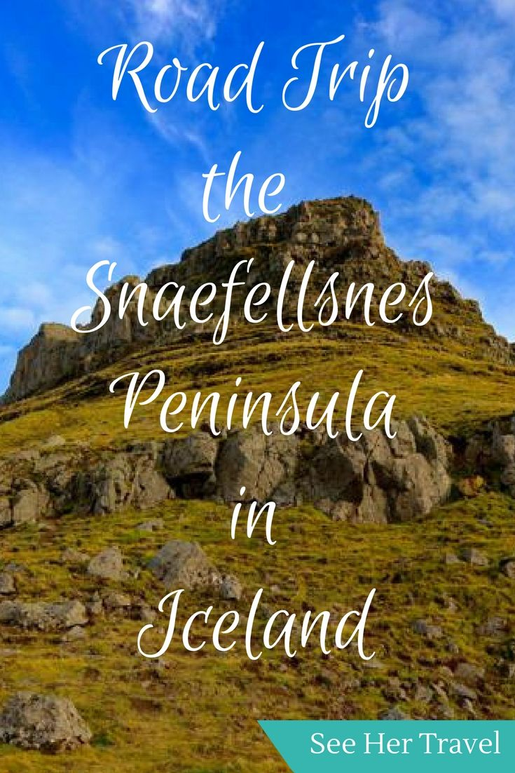 Exploring the Snaefellsnes Peninsula Iceland is a magical road trip around Snaefellsjokull National Park and famous Kirkjufell Mountain.