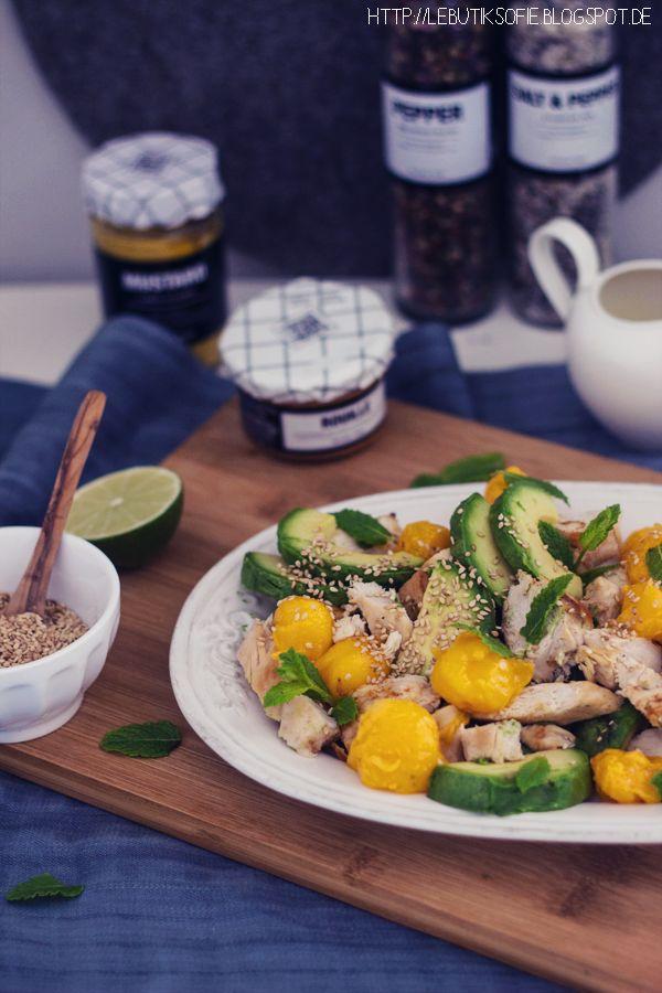 butiksofie: Ein Fitness Salat und ein Wellness Tag