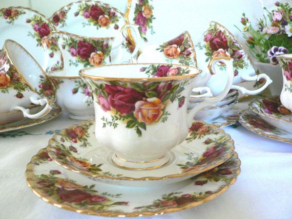 Royal Albert  1960's Vintage Old Country by MaddyVintageHostess