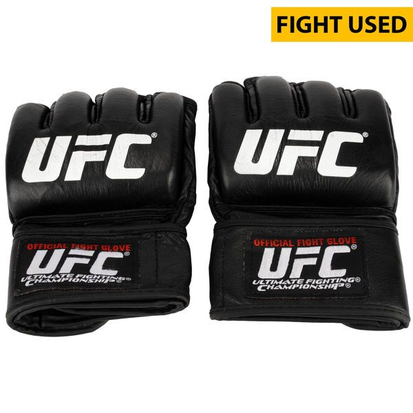 Ildemar Alcantara Ultimate Fighting Championship Fanatics Authentic UFC Fight Night Mir vs. Duffee Fight-Worn Gloves - Fought Kevin Casey in a Middleweight Bout - $499.99