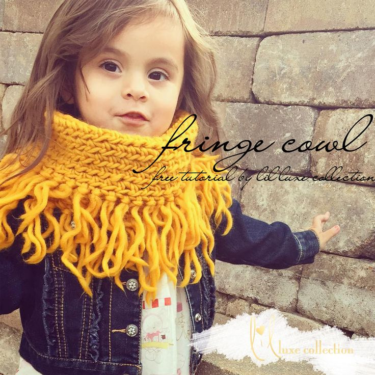 It's almost that time again so lets get cozy with an easy beginner crochet cowl.  For inspiration and examples of this tutorial use #lilluxefringecowl Fashionable and functional for the colder seas...