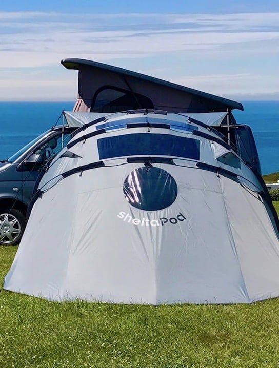 sheltaPod Reinvented Campervan Awning » Gadget Flow