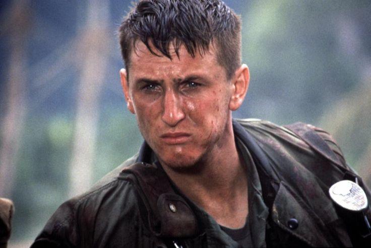 CASUALTIES OF WAR, Sean Penn, 1989   Essential Film Stars, Sean Penn http://gay-themed-films.com/film-stars-sean-penn/