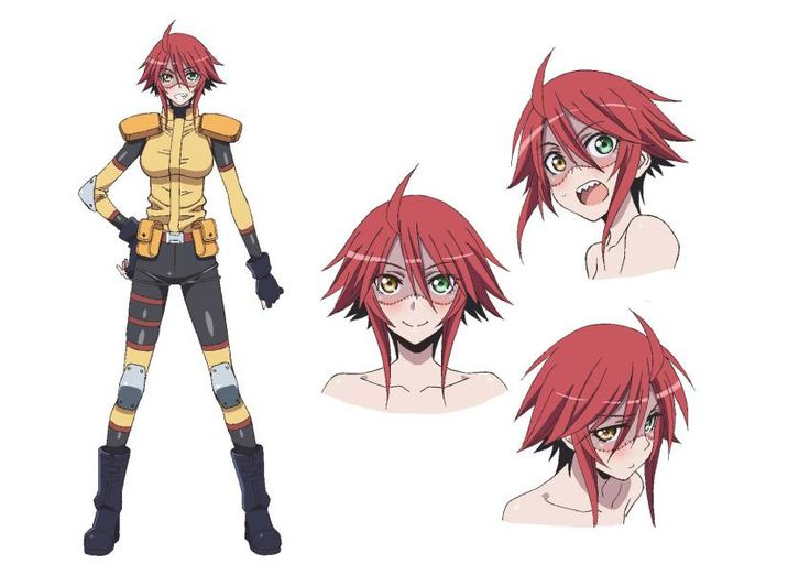 Monster Musume anime - Zombina concept art