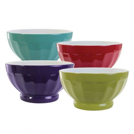 BIA 2-tone Fluted Bowls 16oz
