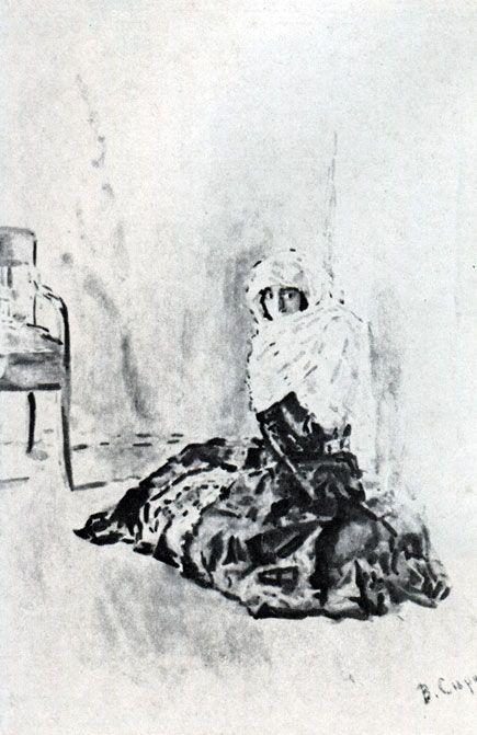 М.Ю.Лермонтов 'Бэла'. Илл. В. А. Серова. 1891
