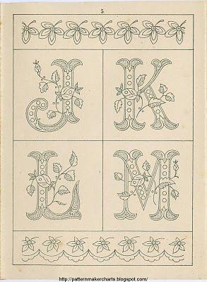 Free Easy Cross, Pattern Maker, PCStitch Charts + Free Historic Old Pattern Books: Sajou No 235:
