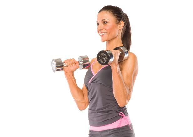 Shapely biceps aren't just for guys anymore. Build yours with the dumbbell hammer curl.