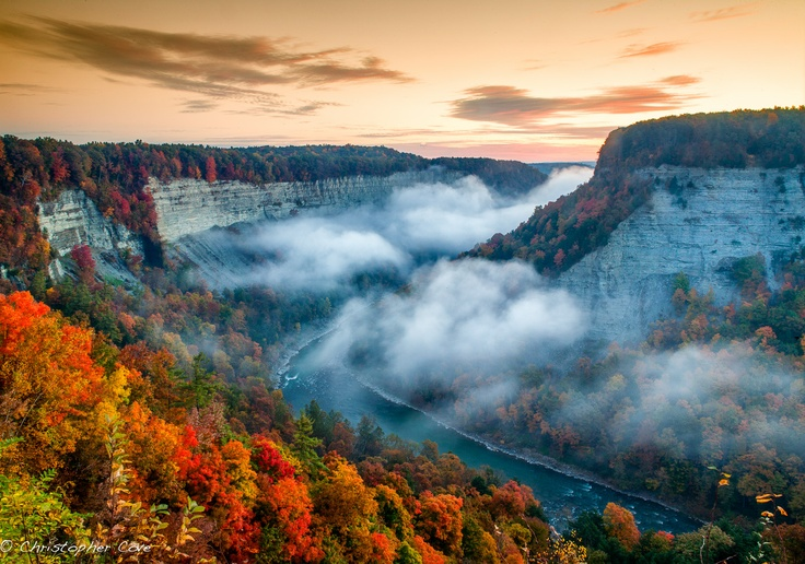 Great Bend Letchworth State Park New York Christopher