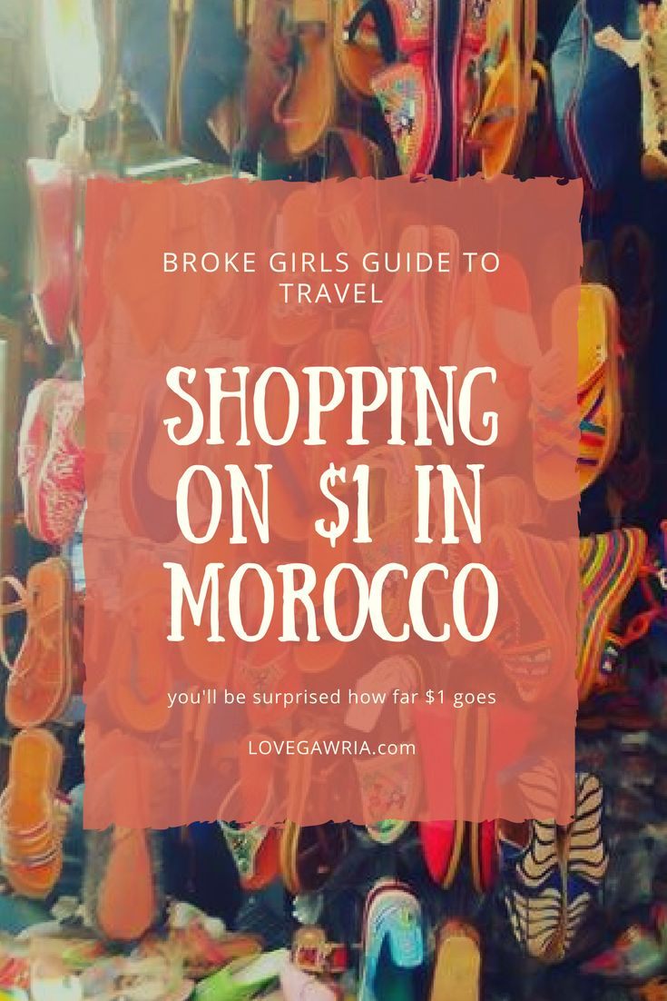 You'll be surprised how far $1 goes in Morocco. In this post, I discuss everything that can be purchased for $1 while travelling in Morocco, and why it's such a popular budget destination! For more information on Morocco, visit Http://www.lovegawria.com (scheduled via http://www.tailwindapp.com?utm_source=pinterest&utm_medium=twpin)