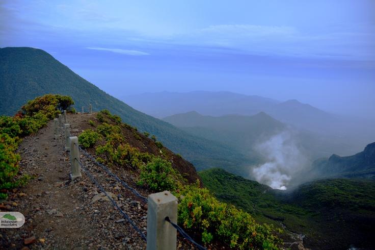 Gede peak, Indonesia