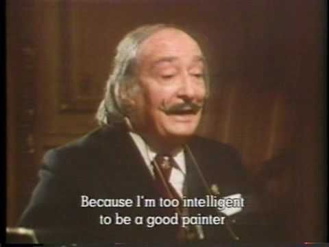 From a documentary, Dali and his wife breaking out of the egg, watched this when I was 11 or 12, pretty freaky