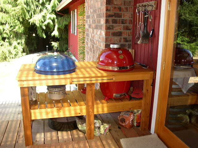 Build A Weber Grill Table Double Dome Welcome To The Tribe Grills Pinterest Grilling And