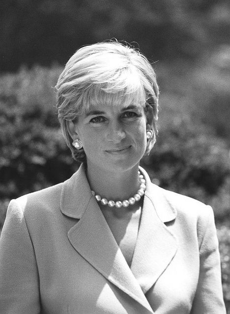 My Princess Diana of Wales ...rendered in black and white by Kingkongphoto  www.celebrity-photos.com, via Flickr