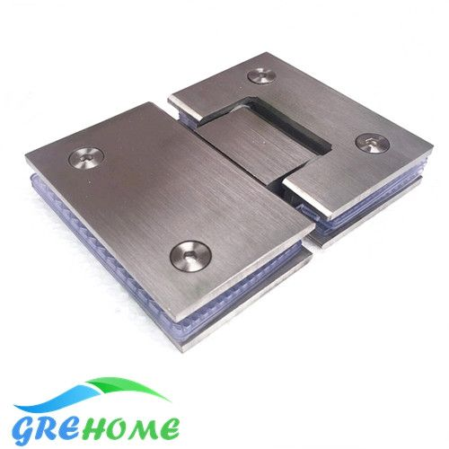 High Quality 180 Degrees open Stainless Steel Wall Mount Glass Shower Door Hinge - ICON2 Luxury Designer Fixures  High #Quality #180 #Degrees #open #Stainless #Steel #Wall #Mount #Glass #Shower #Door #Hinge