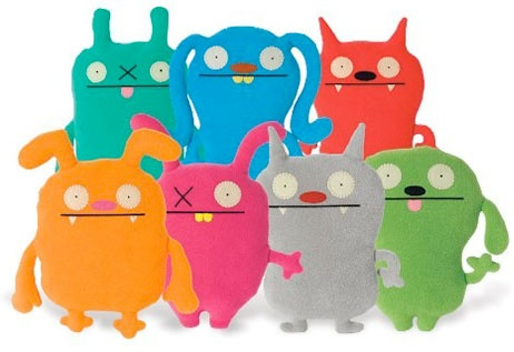 My boys love getting Ugly Dolls and mom thinks they are adorable on their beds!