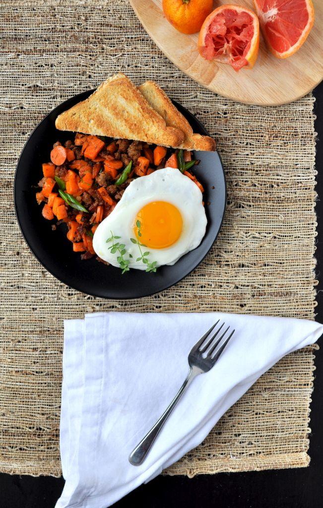 Sweet Potato & Chorizo Breakfast Hash - Food Well Said
