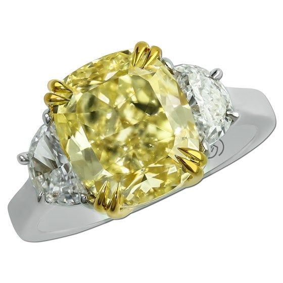 Cushion Cut  Stone Ring