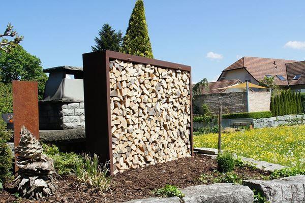 15 besten holzlege bilder auf pinterest brennholz lagerung landschaftsbau und garten ideen. Black Bedroom Furniture Sets. Home Design Ideas