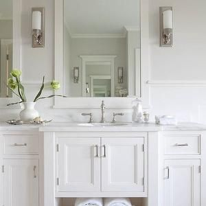 bathroom Vanity with Marble Top, Traditional, bathroom, Milton Development