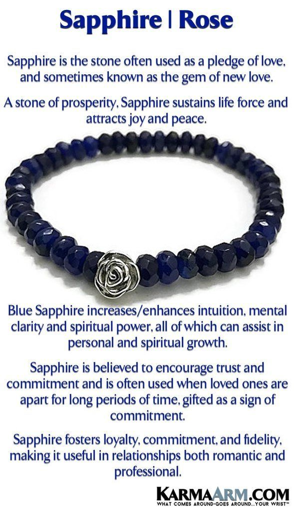 Love Bracelets | Reiki Healing | Mens & Womens Yoga Jewelry | A stone of prosperity, #Sapphires sustain life force and attract joy and peace. #BoHo #zen #reiki #Bracelets #BEADED #Gemstone #Mens #GiftsForHim #Lucky #womens #Jewelry #gifts #Chakra #FitMom #Roses #Gifts #Blog #Kundalini #LawofAttraction #LOA #Love #Mantra #Mala #wisdom #CrystalEnergy #Spiritual #Gifts #Blog #Mommy #Meditation #prayer #mindfulness #Healing #friendship #MothersDay