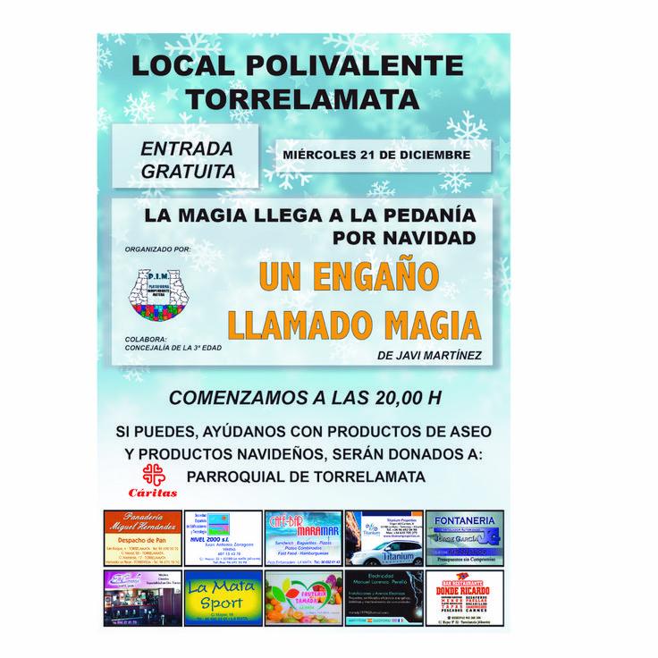 LA MAGIA LLEGA A TORRELAMATA POR NAVIDAD - http://www.theleader.info/2016/12/18/la-magia-llega-torrelamata-por-navidad/?lang=es