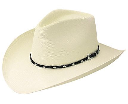 Stetson Straw Hat Diamond Jim
