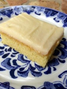 White Texas Sheet Cake Recipe - it's big, yummy and faster than a box of cake mix! Perfect for birthday parties, potlucks or any festive large gathering!