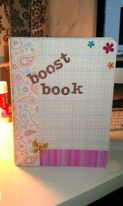 Boost Book idea from The Dove Campaign for Real Beauty.