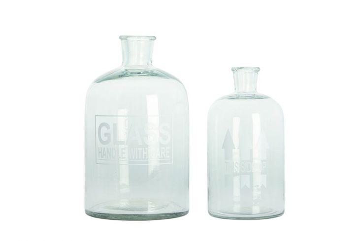Váza Glass 32 cm   Nordic Day