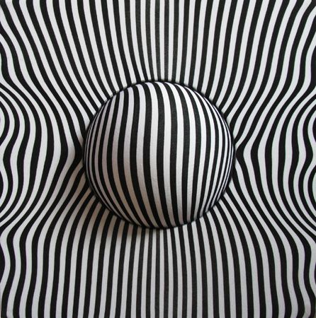 RobotBoy: Optical Illusions, Blackwhit, Black And White, Opart, Mixed Media, Black White, 3D Art, Helen Owens, Op Art