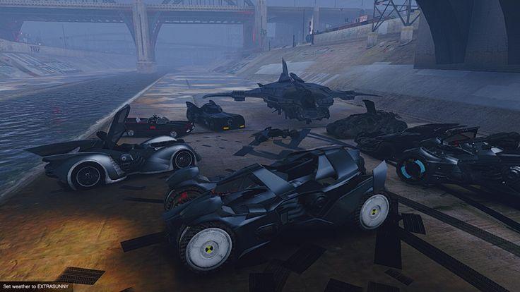 Image result for arkham game vehicles
