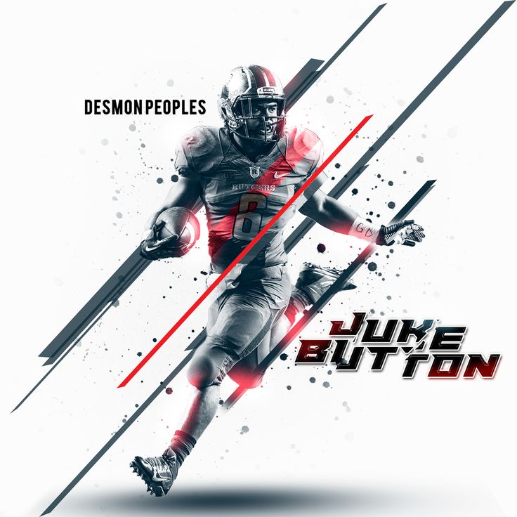 Various Rutgers Football Un-posted Work on Behance