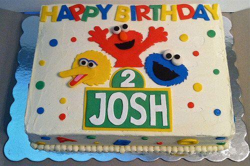 Sesame Street Cake Kit by CakesByDanica on Etsy https://www.etsy.com/listing/237819379/sesame-street-cake-kit