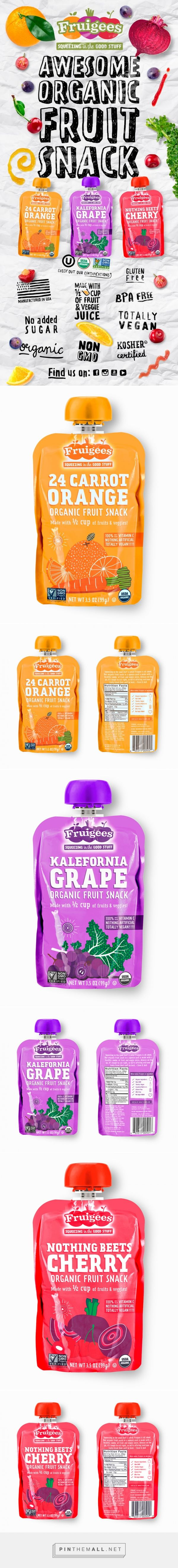 Fruigees - Packaging of the World - Creative Package Design Gallery - http://www.packagingoftheworld.com/2016/01/fruigees.html