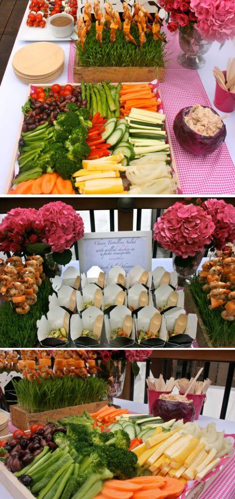 De la huerta a la boda: buffet de frutas y hortalizas | Diario de Bodas