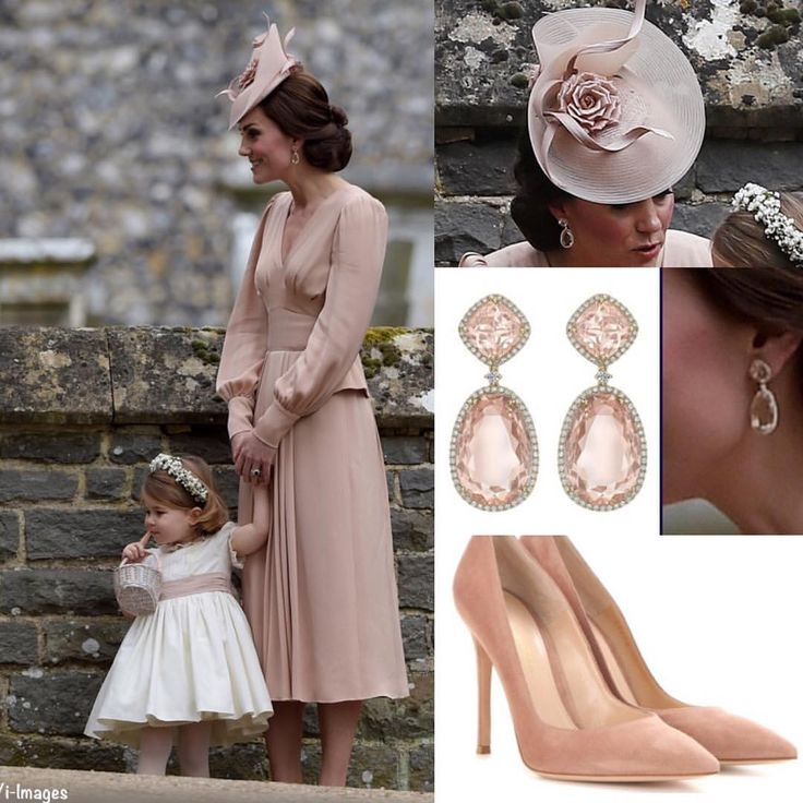 "92 Likes, 1 Comments - Duchess of Cambridge (@katemiddletonfashion) on Instagram: ""Here are the details of Kate's matron of honor ensemble for Pippa's wedding yesterday. Dress:…"""