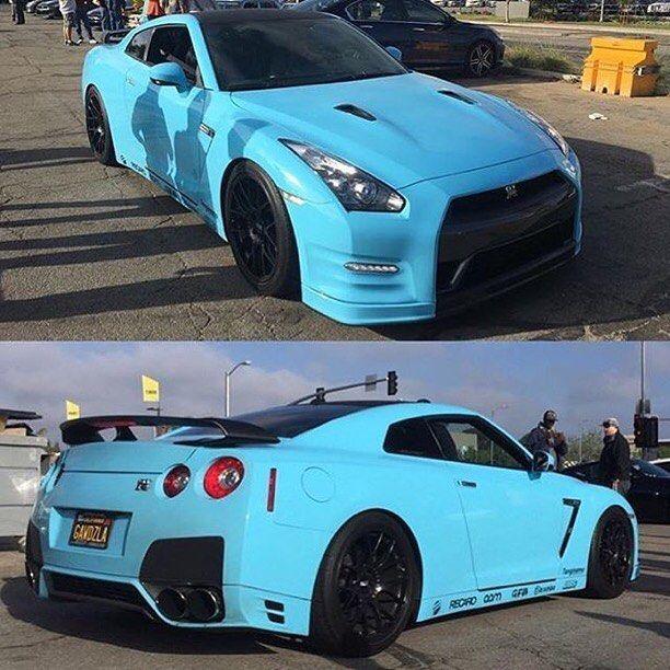 Repost Via Instagram Baby Blue Gtr Nissan By Gtr Car Nissan