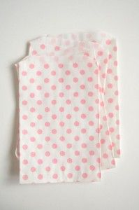 polka dots: Gift Bags, Polka Dots, Gifts Bags, Treats Bags, Pink Spotty, Paper Bags, Party Bags, Parties Bags, Spotty Bags