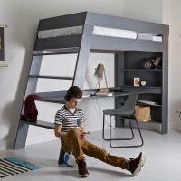 Popular Hochbetten sind gro artig um den Platz unter dem Bett zum Spielen oder f r den Schreibtisch und mehr zu nutzen Dannenfelser Kinderm bel Seite