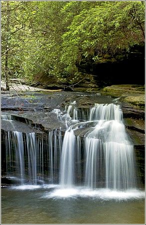 Table Rock SP, SC: a 3083-acre park w/challenging hiking trails, 2 park lakes, a beautiful water-fall, a CG, rustic mtn cabins, meeting facilities & many other quality outdoor activities