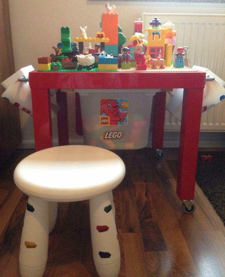 die besten 25 lego tisch ikea ideen auf pinterest lego tisch lego aufbewarung und lego duplo. Black Bedroom Furniture Sets. Home Design Ideas