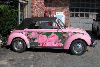 Flowery VW Beetle .#jorgenca