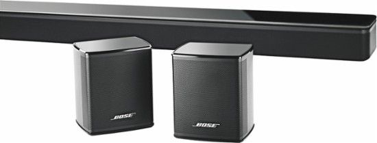 Bose® - Virtually Invisible® 300 wireless surround speakers - Black - Alt_View_Zoom_11