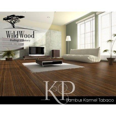 Podłoga bambus Karmel Tabaco - piękna i egzotyczna podłoga. System montażu - click (bez klejenia).