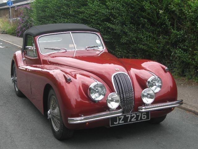 Jaguar Cars for Sale | you are here classic cars sold jaguar 1953 jaguar xk120 dhc