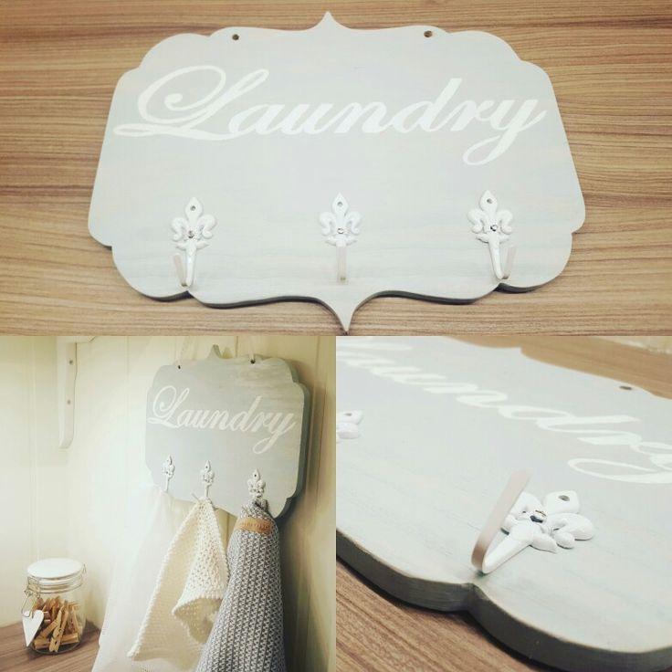 Laundry sign / skilt  made by me Instagram : @snekkerdama